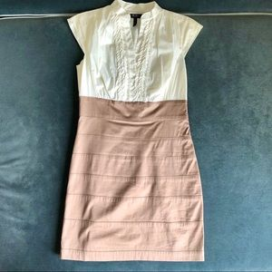 BCBG Tuxedo Shirt Dress